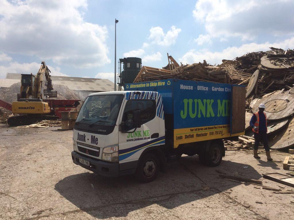wood recycling Glasgow